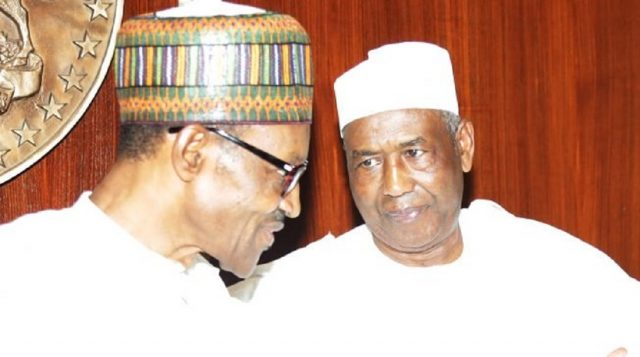 Buhari and Isa Funtua