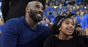 Kobe Bryant and his 13-year-old daughter, Gianna