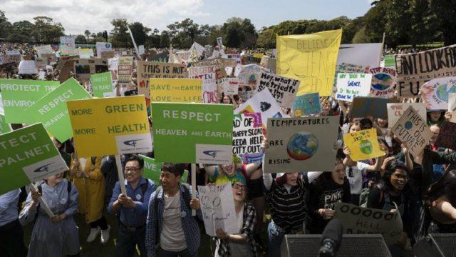 climate strikes