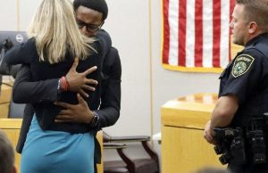 Slain Man's Brother Hugs And Forgives Sentenced Female Cop